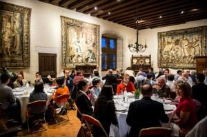 Pour l'International Ultrasonics Symposium 2016, reportage le samedi 17 septembre 2016 au château d'Amboise pour la soirée d'accueil.
