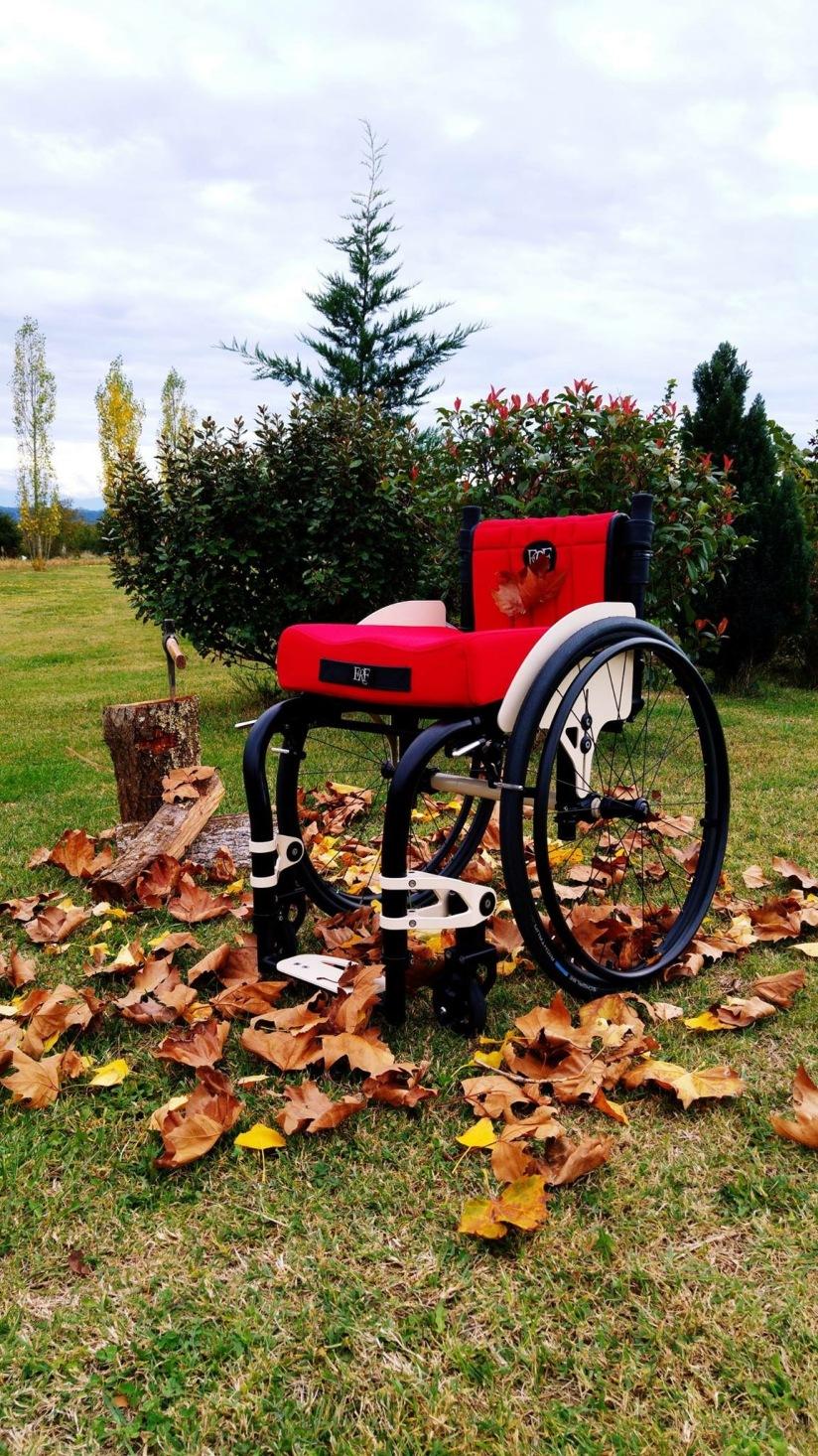 Le fauteuil roulant français @parlonssante.com