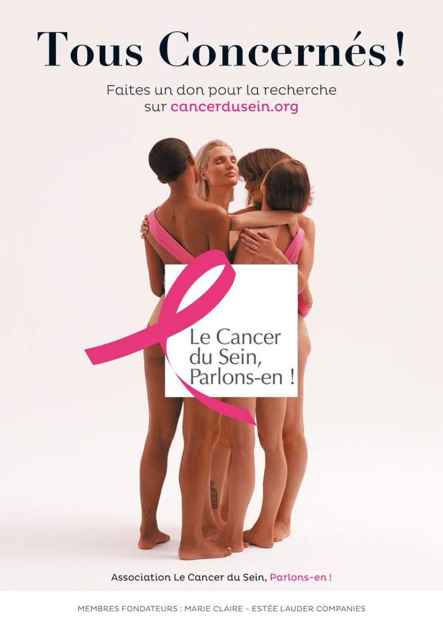 Le cancer du sein c'est 11 900 décès par an ! Mobilisons-nous!