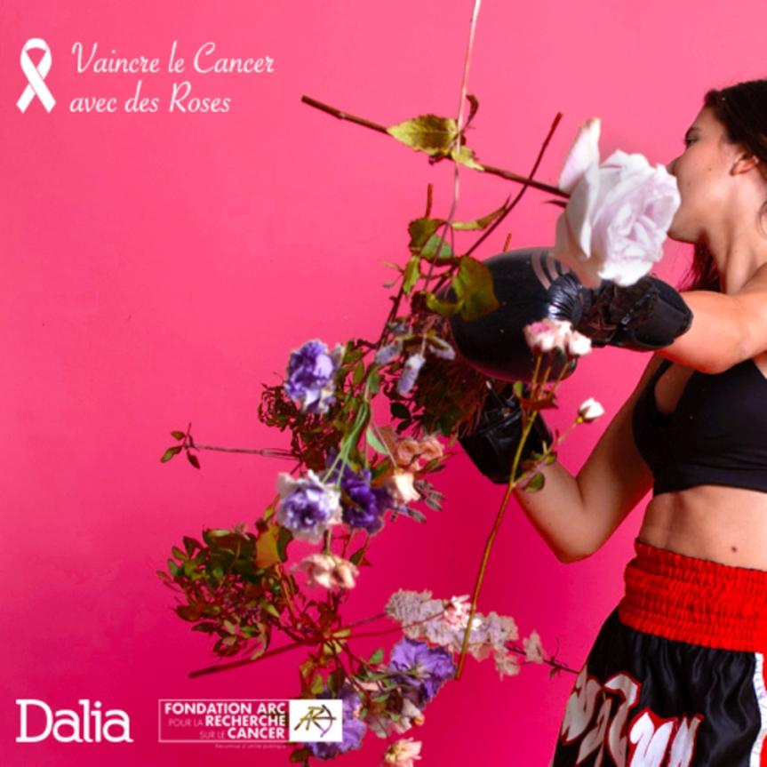 La Fondate ARC et Dalia s'associent au nom de la Rose