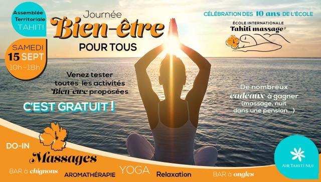 Une Journée très Zen en direct du Paradis pour fêter les 10 ans de TahitiMassage
