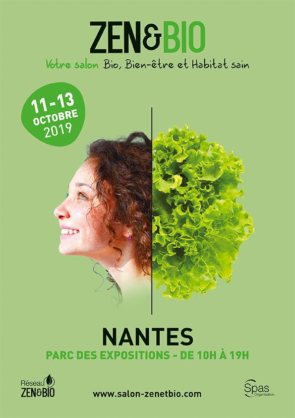 Le salon ZEN & BIO revient à Nantes du 11 au 13 octobre 2019